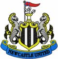Newcastle United Football Club logo embroidery design