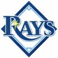 Tampa Bay Rays Logo embroidery design