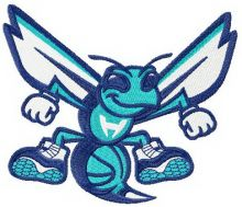 Charlotte Hornets alternative logo 3