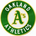 Oakland Athletics Logo embroidery design