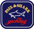 Paul & Shark logo embroidery design