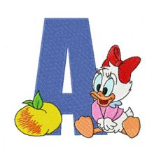 Mickey Mouse A Apple