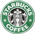 Starbucks Coffee logo embroidery design