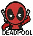 Villain Deadpool embroidery design