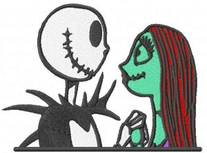 Jack Skellington plus Sally
