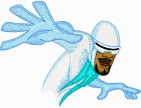 Frozone 1 machine embroidery design