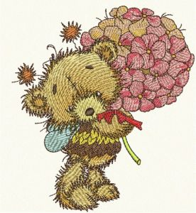 Teddy bear fairy