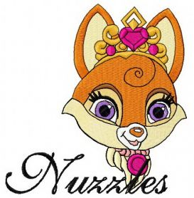 Nuzzles 2 machine embroidery design