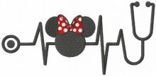 Minney Mouse stetoscope