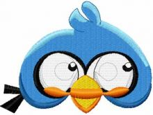 Angry Bird blue 3