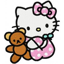 Hello Kitty with Toy