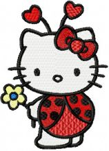 Hello Kitty Ladybug Costume
