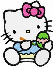 Hello Kitty Ready for Easter