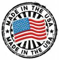 Made in the USA embroidery design