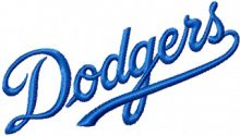 Los Angeles Dodgers Script Logo