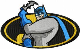 Batman always on guard machine embroidery design