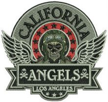 California Angels badge
