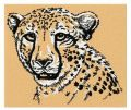 Cheetah 3 embroidery design