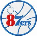 Delaware 87ers embroidery design