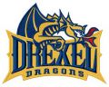 Drexel Dragons logo embroidery design