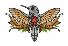 Humming-bird of spades