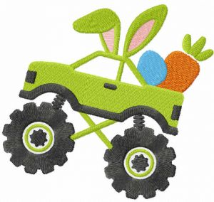 Easter Monster truck