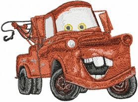 Mater  Disney Cars machine embroidery design