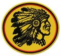 Native American Indian chief mascot 2 embroidery design