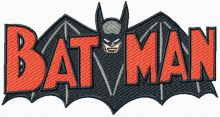 Batman old comics logo
