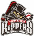 London Rippers Logo embroidery design