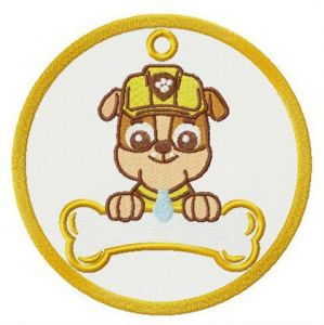 Rubble badge