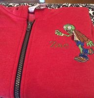 Zombie design on jacket1