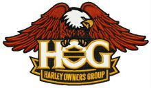 Harley owners group logo