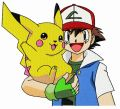 Pikachu with Ash Ketchum