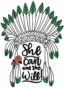 She can and she will