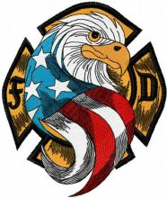 USA Eagle Firefighter