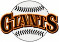 Giants classic logo embroidery design