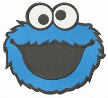 Laughing Cookie Monster