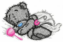 Teddy Bear with rattle