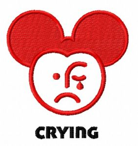 Crying Mickey