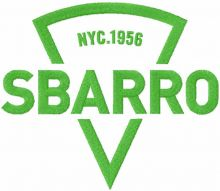 Sbarro logo one colored