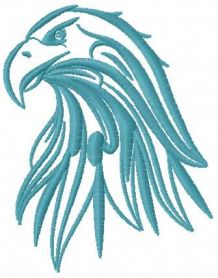 tribal eagle free embroidery design 9