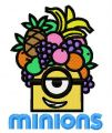 Tropical Minion 2 embroidery design