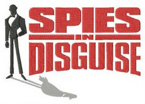 Spies in Disguise logo