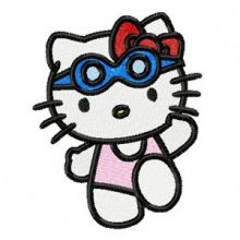 Hello Kitty Swims
