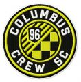Columbus Crew SC logo embroidery design