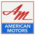 American Motors embroidery design