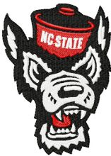 North Carolina State Angry wolf