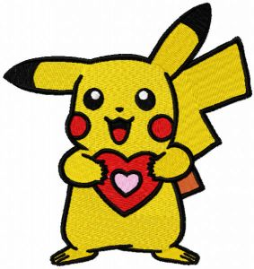 Pokemon with heart