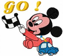 Mickey Mouse Racing